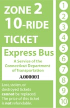 <b>10-Ride Ticket/Express Routes 917-950 Zone 2</b>