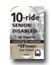 <b>10-Ride Ticket/Senior/Disabled</b>