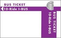 <b>10-Ride Ticket/I-BUS</b>