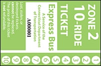 <b>10-Ride Ticket | 2 Zones Express Routes Without Fare Boxes</b