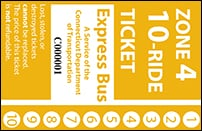 <b>10-Ride Ticket | 4 Zones Express Routes Without Fare Boxes</b>